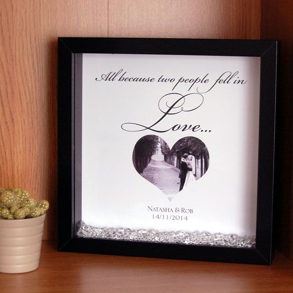 All Because Two People Fell in Love Framed Print