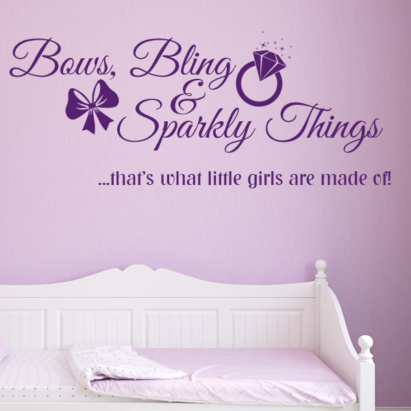 Bows Bling Amp Sparkly Things That S What Little Girls Are