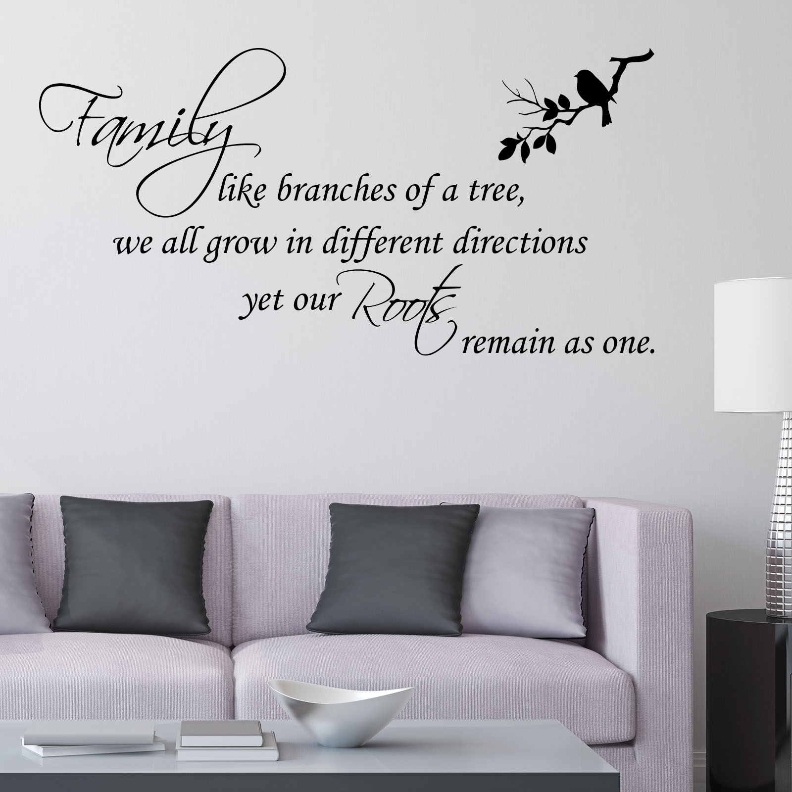 Awesome Family Like Branches Of A Tree ~ Wall Sticker / Decals Part 21