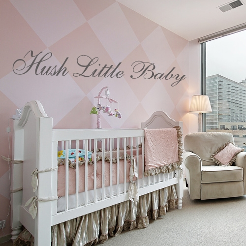 Hush Little Baby Wall Sticker Decals