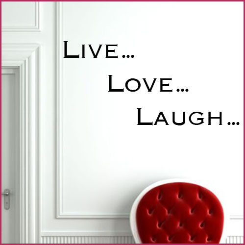 live laugh love wall sticker decals live laugh love wall sticker live well laugh often and