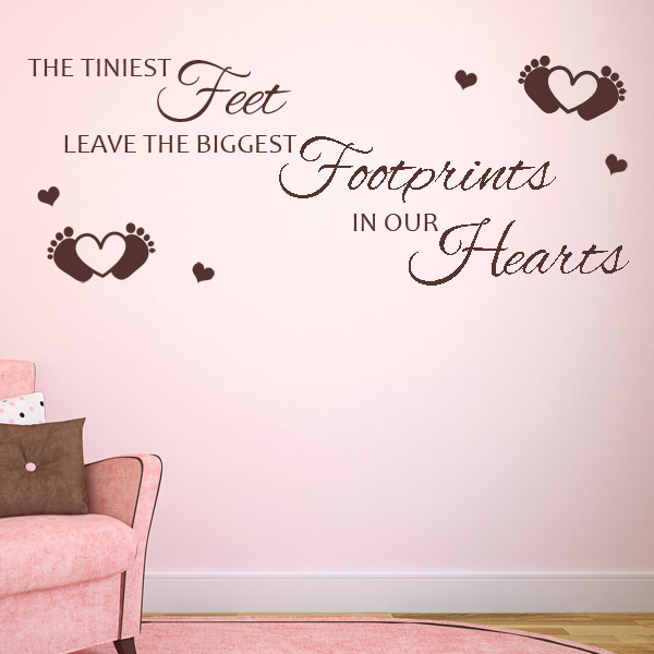 The Tiniest Feet Leave The Biggest Footprints In Our