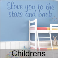 childrens wall stickers decals custom
