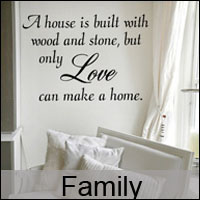 family wall stickers decals custom