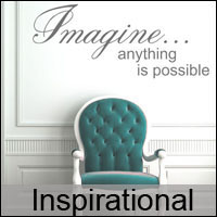 inspirational wall quote stickers decals