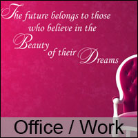 office wall stickers workplace decals custom