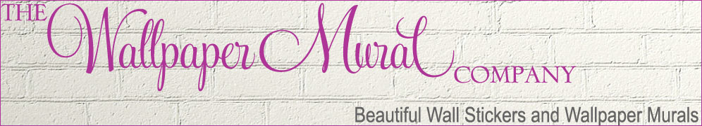 wall quotes stickers  by the wallpaper mural company