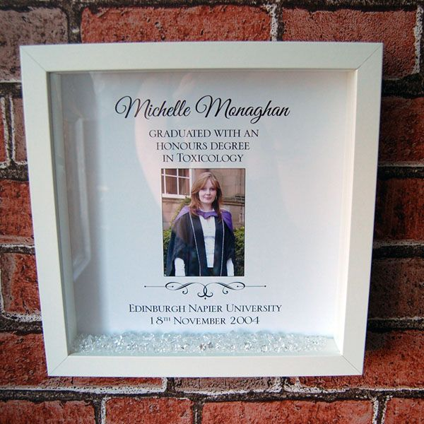 Personalised Graduation Framed Memory Print