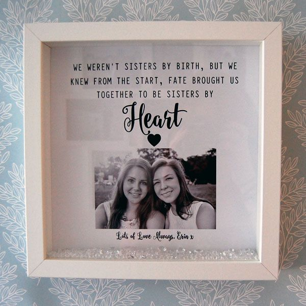 We Weren T Sisters By Birth Framed Print